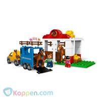 LEGO DUPLO 5648 Paardenstal - Koop nu voor €41,75 bij Koppen.com De paardenstallen op de boerderij zitten altijd vol plezier! Het is bijna tijd voor de wedstrijd paardenspringen en vader en zijn kleine meisje zijn druk bezig om hun paarden op tijd klaar te krijgen. - See more at: http://www.koppen.com/producten/product/lego-duplo-5648-paardenstal#sthash.MeRA7sTx.dpuf