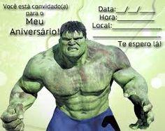 Resultado de imagem para frases de lembrancinhas de aniversario do hulk