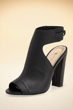 Perfect Stacked Heel from Boston Proper on Catalog Spree
