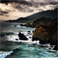 Pacific Coast Highway. Taking a month long road trip next year with my Wolfie.  I can't wait for our amazing journey.