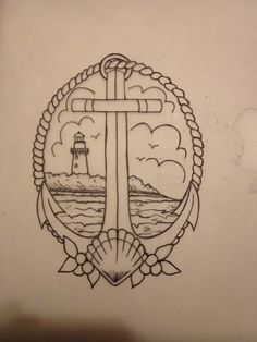 sketch for tattoo... Ode to my home, St. Simons Island.