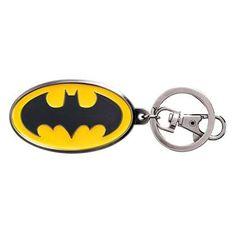 Batman Logo Metal Color Keychain