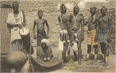 Drums and balafon in Djenne (Mali)