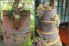 Wood Rustic Looking Wedding Cakes | ... Wedding Theme ~ Brenda's Inspiration Board | Afloral.com Wedding