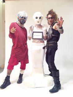#KAZ & Arimatsu & Kyan Yutaka(Golden Bomber)#VAMPS #VAMPSHalloweenParty2015 MAKUHARI - Day 3 (October 25, 2015)