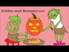 Goblins! Halloween Song for kids (Bunnies & Chocolate) - Creative Kids love DidiPopMusic