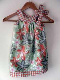 sweet girl's pillowcase dress