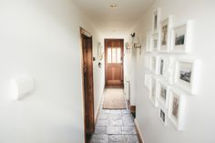 Walls painted in Dulux Timeless | Cottage Hallway with Stable Door