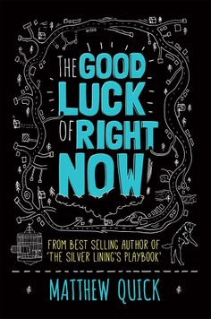 """The Good Luck of Right Now by Matthew Quick - April 2014 - 'Dear Mr. Richard Gere, In Mom's underwear drawer—as I was separating her """"personal"""" clothes from the """"lightly used"""" articles I could donate to the local thrift shop—I found a letter you wrote. Cool Books, New Books, Books To Read, Richard Gere, Good Luck, Right Now, Book Lists, Bestselling Author, Book Worms"""