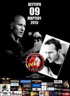 Nikos G. & Konstantinos K. @ Cosmos Live (09/03/2015)