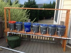 Dutch Bucket System without plants