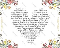 40 40 Birthday 40 Birthday Gift Birthday Peom Floral Border Forty Birthday Gift Ideas 8 x 10 Print 40th Birthday Poems, 40 Birthday Gifts, 40th Birthday Decorations, 21st Birthday Cards, Forty Birthday, Happy Birthday, Birthday Greetings, Birthday Wishes, Birthday Ideas