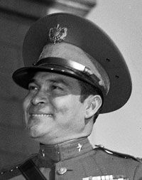 U.S.-backed Dictator Fulgencio Batista, leader of Cuba from 1933-1944, and from 1952-1959, before being overthrown as a result of the Cuban Revolution.