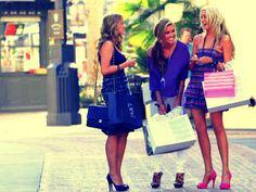 Shoppen met vriendinnen