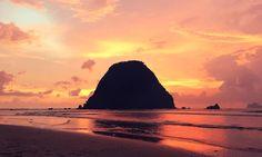 Ost-Java Reisetipps Sonnenuntergang Red Island