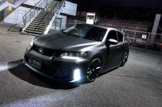 WALD Custom Lexus CT200h Black Bison Edition