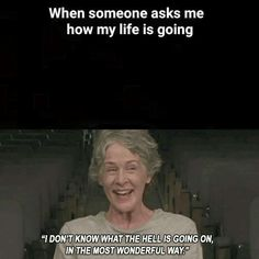 The one and only moment I could relate to Carol