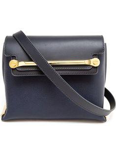 eb8ee83e033c CHLOÉ Matte And Grained Leather Shoulder Bag Chloe Bag