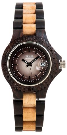 Tense Wooden Watches: Unique time-pieces made in Canada : Whistler - Model G4102WM-GRAD [G4102WM-GRAD] - $149.00USD