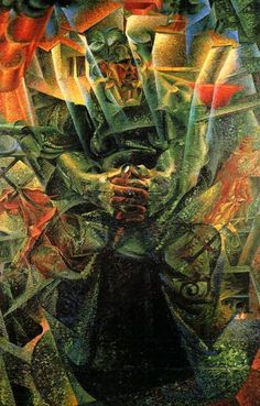 Umberto Boccioni – 'Materia' – 1912 ( portrait of his mother ) Peggy Guggenheim Collection, Venice Umberto Boccioni, Italian Futurism, Futurism Art, Peggy Guggenheim, Italian Painters, Italian Artist, Oil Painting Reproductions, A4 Poster, Public Art