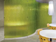 Office Design: Curved Wall Partitions