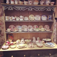 Our lovely dresser at Tea & Roses.