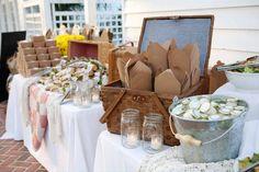 Ambiance Pique nique - The Wedding Tea Room