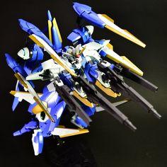 GUNDAM GUY: HG 1/144 Gundam Raguel - Custom Build