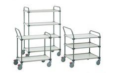 Storage Design Limited - Access Handling - Trucks & Trolleys - Shelf Trolleys - Adjustable Shelf Trolley