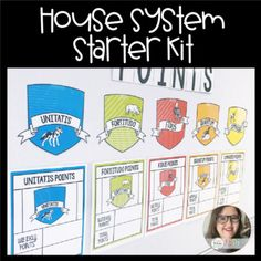 House System Starter Kit by Teaching In Full Bloom 2nd Grade Classroom, Middle School Classroom, New Classroom, Classroom Community, Classroom Themes, Classroom Organization, Classroom Management, Ron Clark, Harry Potter Classroom