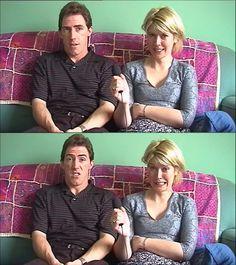 Rob Brydon and Julia Davis Rob Brydon, Julia Davis, British Comedy, Comedians, Stars, Sterne, Star