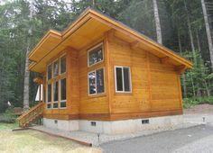 Pan Abode Cedar CAbin Kit | Cottages | Pinterest | Cabin kits, Cabin