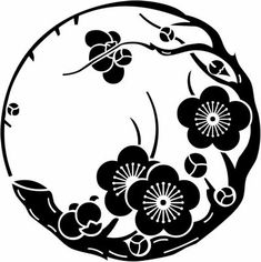 All about Japanese symbols such as Kamon. Every Japanese have own symbolic family crest. Chinese Patterns, Japanese Patterns, Japanese Design, Japanese Art, Stencil Art, Stencils, Japanese Family Crest, Impression Textile, Japanese Symbol