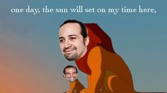 Happy trails, Lin-Manuel Miranda