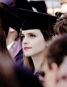 Congratulations to Emma Watson for Graduating from Brown University with a Bachelor's Degree in English Literature!!! The Harry Potter Fandom couldn't be prouder of you!!!! Xoxo