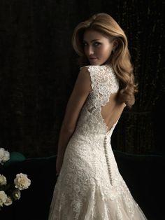 ALLURE BRIDALS 8965 Talla 4 - De noviaa novia