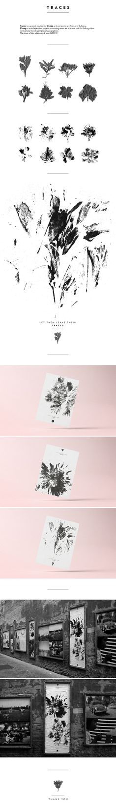 Traces on Behance