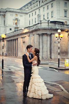 Marianne Taylor Photography Royal Exchange wedding Lazaro Gown