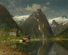 Farm and Fjords by Adelsteen Normann