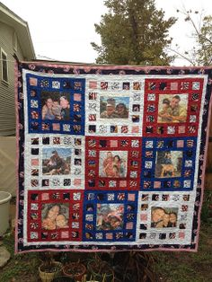 Soldier's Memorial Quilt by sewandtellquilts, via Flickr