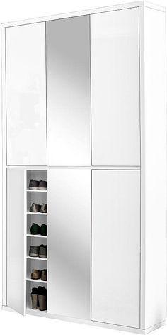otto hmw schuhschrank spazio mit spiegel mit spiegel hmw schuhschrank. Black Bedroom Furniture Sets. Home Design Ideas