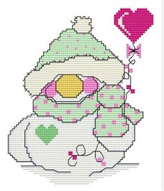 Snowball of the Month - February - DIGI CROSS STITCH