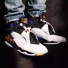 a2bfdcad06a4bd Does the Air Jordan 8 Look Better on Feet
