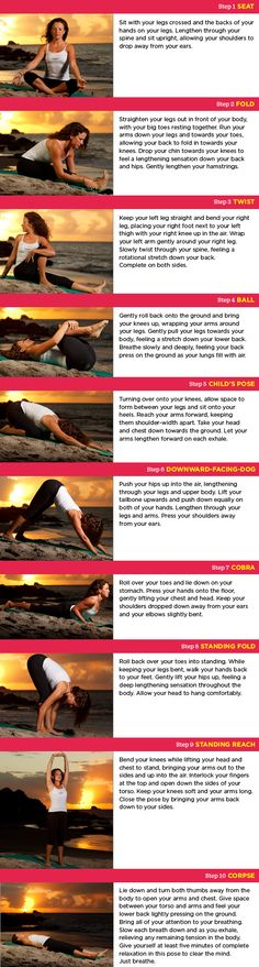 Morning stretch-----Stretching Yoga Routine from The BodyHoliday LeSport | Women's Health Fitness Blog: Get killer workouts, learn about new fitness trends, and snag awesome gear