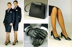 British Airways.  Flew them this weekend, and those flight attendants have style!  #Wantthatbag!!!