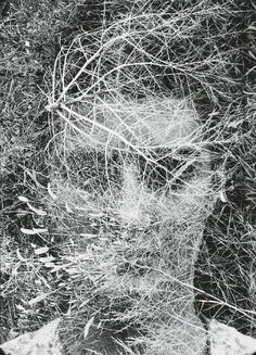 ckck:    Eleanor, Detroit, 1942 by Harry Callahan.