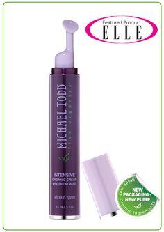 Michael Todd True Organics Hydration Boost Eye Serum - By far the best eye cream I've used so far!