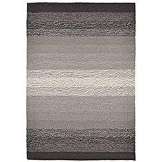 "Amazon.com: Liora Manne RV123A36047 Charcoal Torello Fade Rug, 24"" x 36"": Kitchen & Dining"