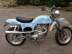 """Racing Cafè: Triumph Rickman Métisse """"Street Scrambler"""" by Red Max Speed Shop You know you have something special when people are unable to put a title on it."""