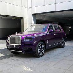 Bespoke Rolls Royce Cullinan in Twilight Purple at Rollsroyceabudhabi ♛ - Royce Car, Entrepreneur, Rolls Royce Cullinan, Rolls Royce Phantom, Best Muscle Cars, Fancy Cars, Luxury Suv, Amazing Cars, Exterior Colors